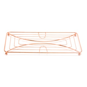 Copper Double Pan Trivet