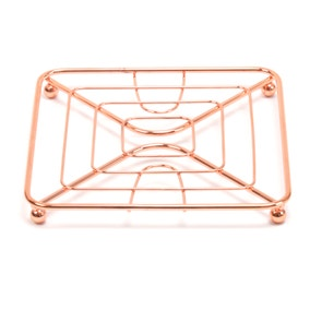 Copper Single Pan Trivet