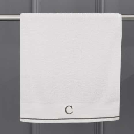 Monogram Hand Towel C