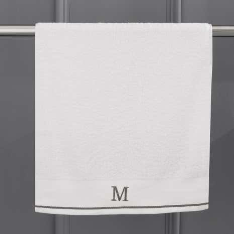 Monogram Hand Towel M