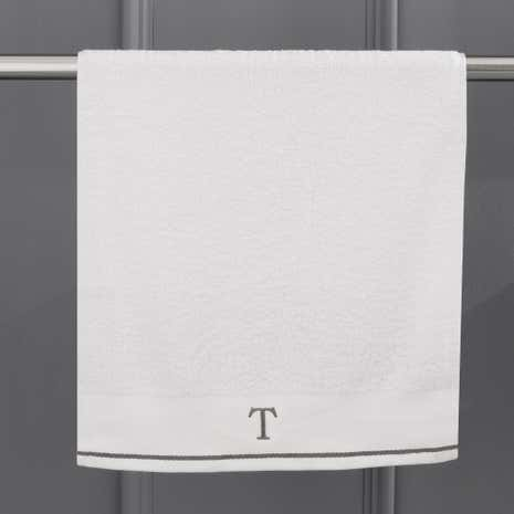 Monogram Hand Towel T