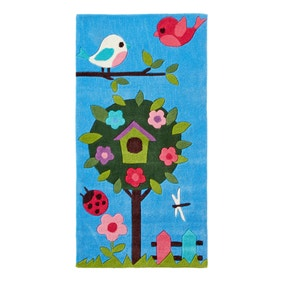 Bird House Hong Kong Rug Loz Exclusively Online