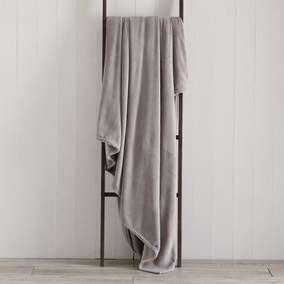 Seriously Soft Grey Throw