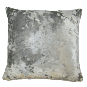 Large Merlin Silver Cushion Cover