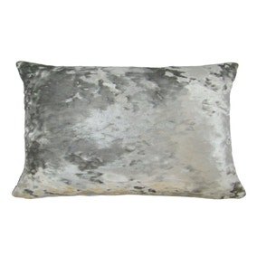 Merlin Silver Rectangular Cushion Cover