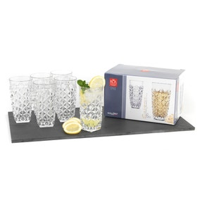 RCR Enigma Hi Ball Glasses Set of 6