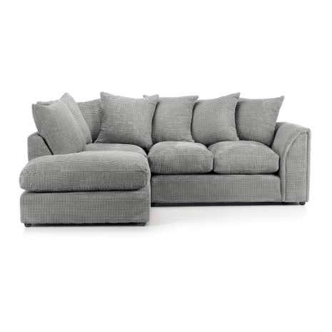 Dylan Grey Left Hand Corner Sofa