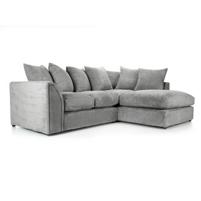 Denver Grey Right Hand Corner Sofa