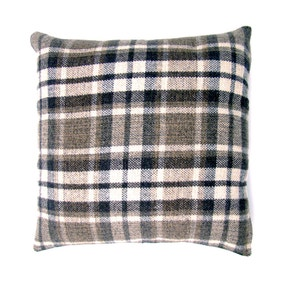 Check Berwick Cushion Cover Natural