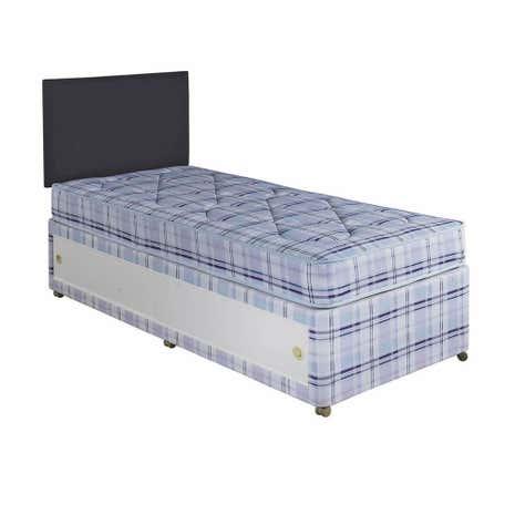 Salas divan bed dunelm for Cheap single divan beds with storage