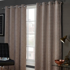 Marnie Mink Eyelet Curtains