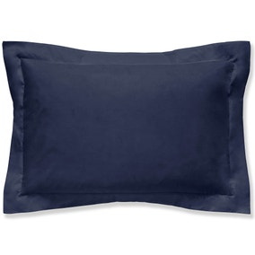 Brushed Cotton Navy Oxford Pillowcase