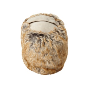 Husky Faux Fur Door Stop