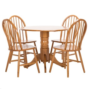Dundee 4 Seater Dining Set. Loz_exclusively_online