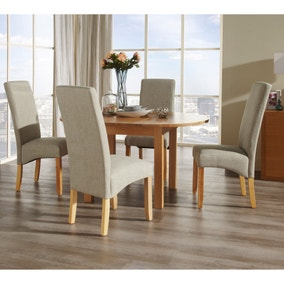 Sutton 4 Seater Extending Dining Set. Loz_exclusively_online