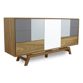 Grey Oak Sideboard
