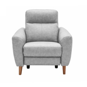 Darwen Grey Electric Recliner Armchair