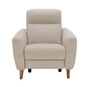 Darwen Beige Electric Recliner Armchair