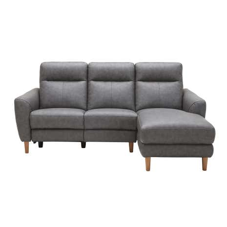Darwen Charcoal Right Hand Electric Recliner Sofa