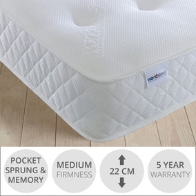 Damask Pocket Memory Mattress