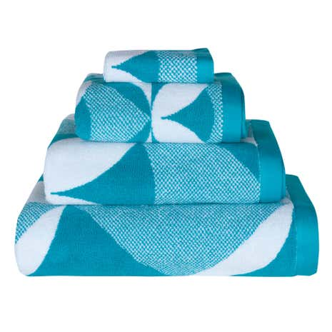 Lindsey Lang Radiate Sea Blue Towel