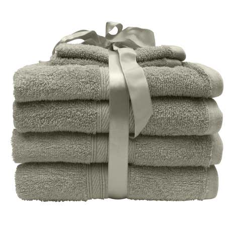 6 Piece Towel Bale Taupe