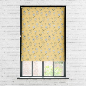 Elements Sunflower Blackout Roller Blind