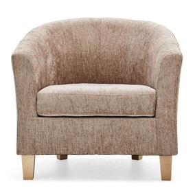 Maxwell Mink Tub Chair