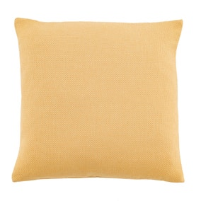 Essentials Barkweave Ochre Cushion