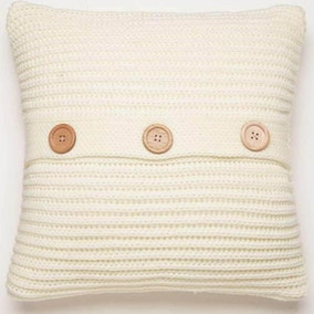 Chunky Knit Polar Cushion Cover
