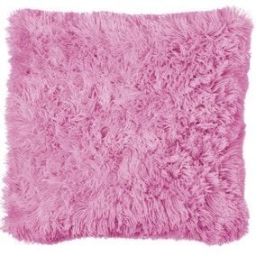 Cuddly Pink Cushion Cover