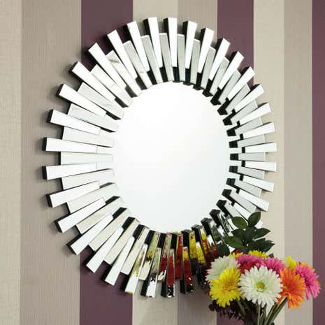 Starburst wall mirror dunelm for Mirrors to purchase