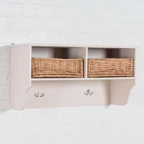 Newport 2 Basket Shelf Rack