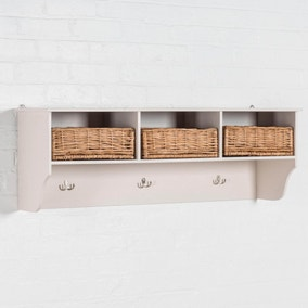 Newport 3 Basket Shelf Rack