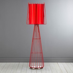 Aria Red Floor Lamp
