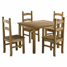 Corona 4 Seater Dining Set