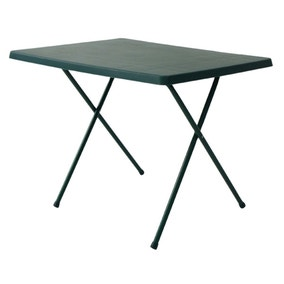 Green Outdoor Folding Table
