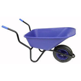 Bronco Pneumatic Wheel Wheelbarrow 110L