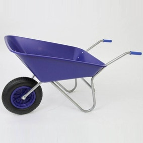Matador Pnematic Wheel Wheelbarrow 85L