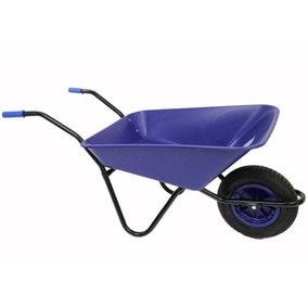 Bullbarrow Pneumatic Wheel Wheelbarrow 85L