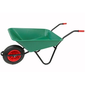 Bullbarrow Solid Wheelbarrow 85L