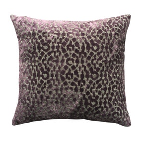 5A Fifth Avenue Plum Bergen Animal Print Cushion