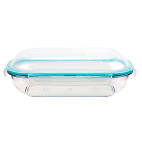Clearly Lock & Lock Oval 690ml Dome Style Container