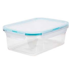 Clearly Lock & Lock Rectangular 1.1 Litre Container