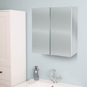 Avon Mirrored Double Cabinet