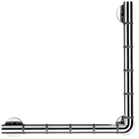 Chrome 48x48cm Grab 'N' Grip Bar