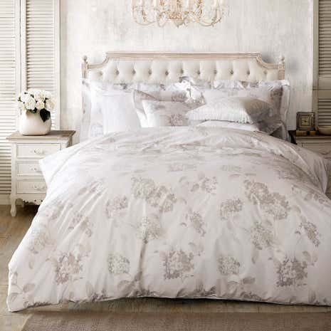Holly Willoughby Hydrangea 100 Cotton Reversible Duvet Cover