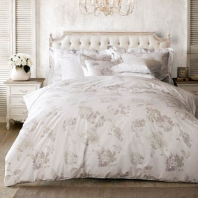 Holly Willoughby Hydrangea White Oxford Pillowcase Pair
