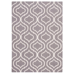Silver Linear 15 Rug