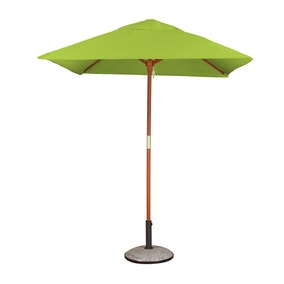 Square Premium 1.8m Lime Green Parasol